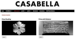 Snapshot of Casabella website