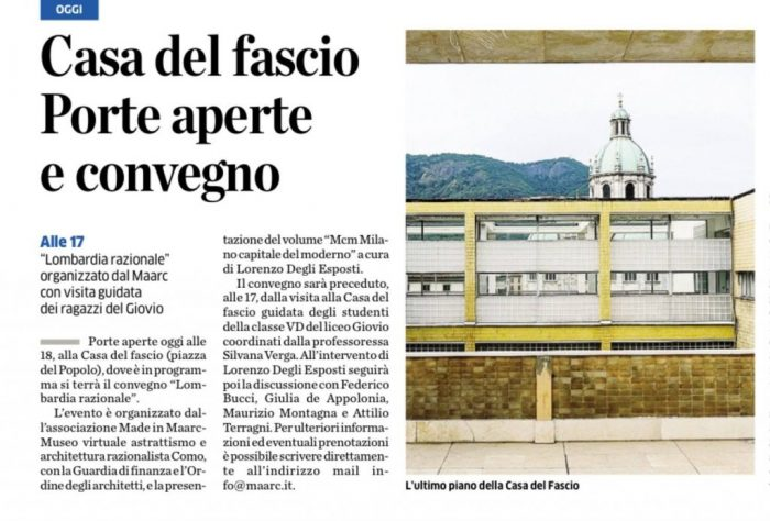 Scan of the page on La Provincia