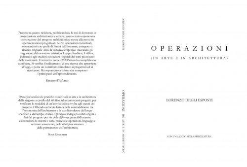 Cover of Operazioni, book by Lorenzo Degli Esposti