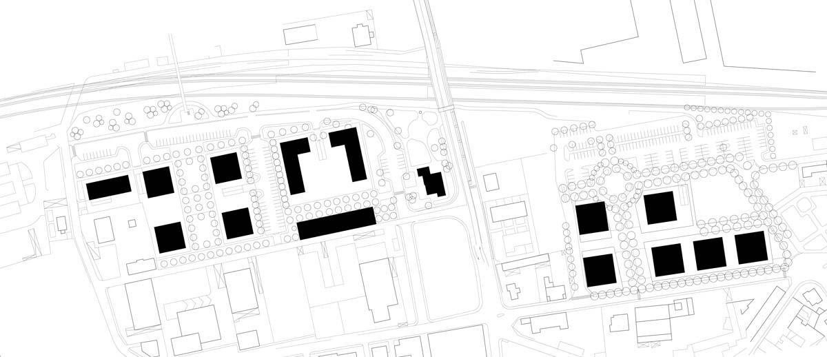 Cormano-PAS2-PAS3-Masterplans. Urban plan