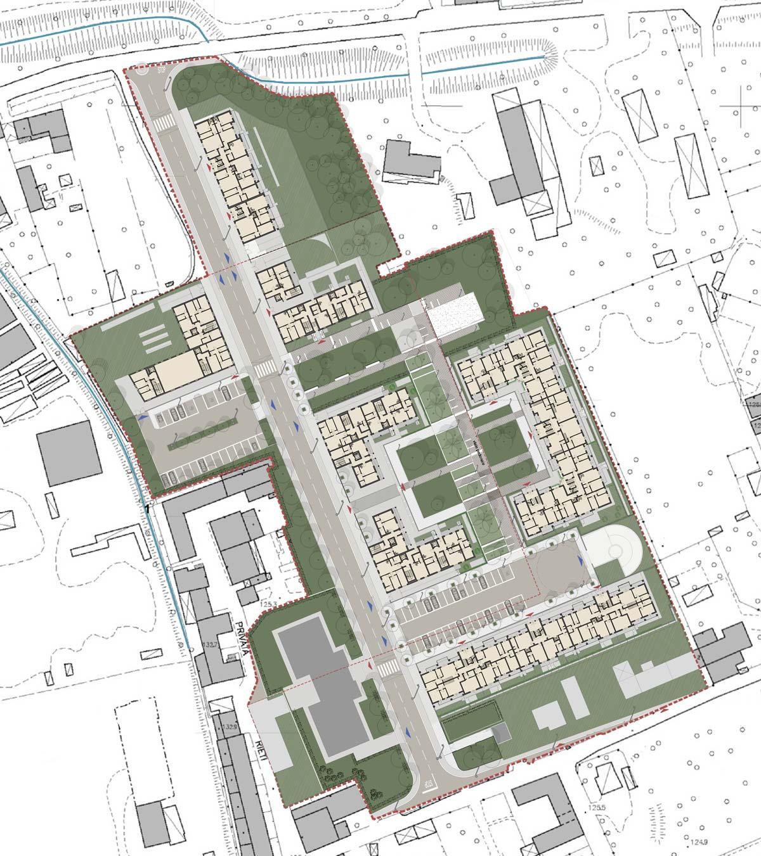 R7-5 Masterplan. Urban plan