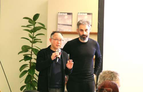 Choi Wook and Lorenzo Degli Esposti