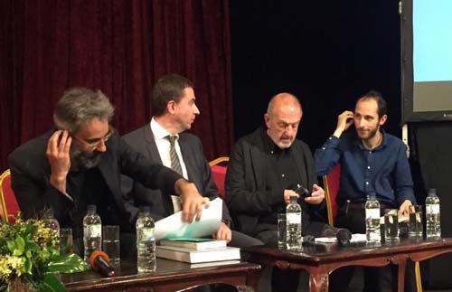 Lorenzo Degli Esposti, Zdravko Zdravkov, Amnon Bar Or, Vassil Makarinov: Sofia conference