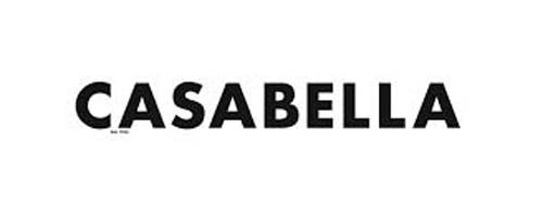 Casabella logo, link to webpage dedicated to L. Degli Esposti