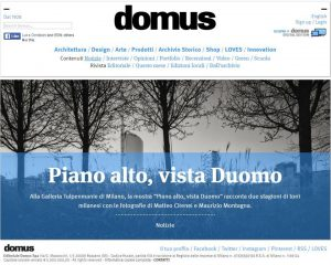 Snapshot from Domus website