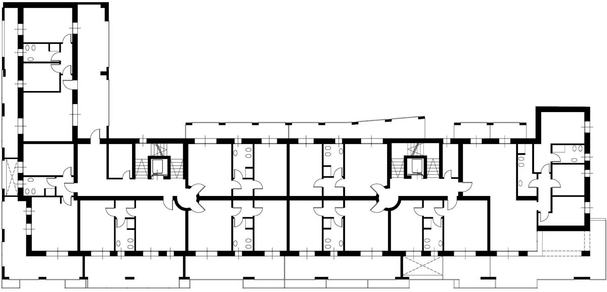 Type plan of Casa Tersicore
