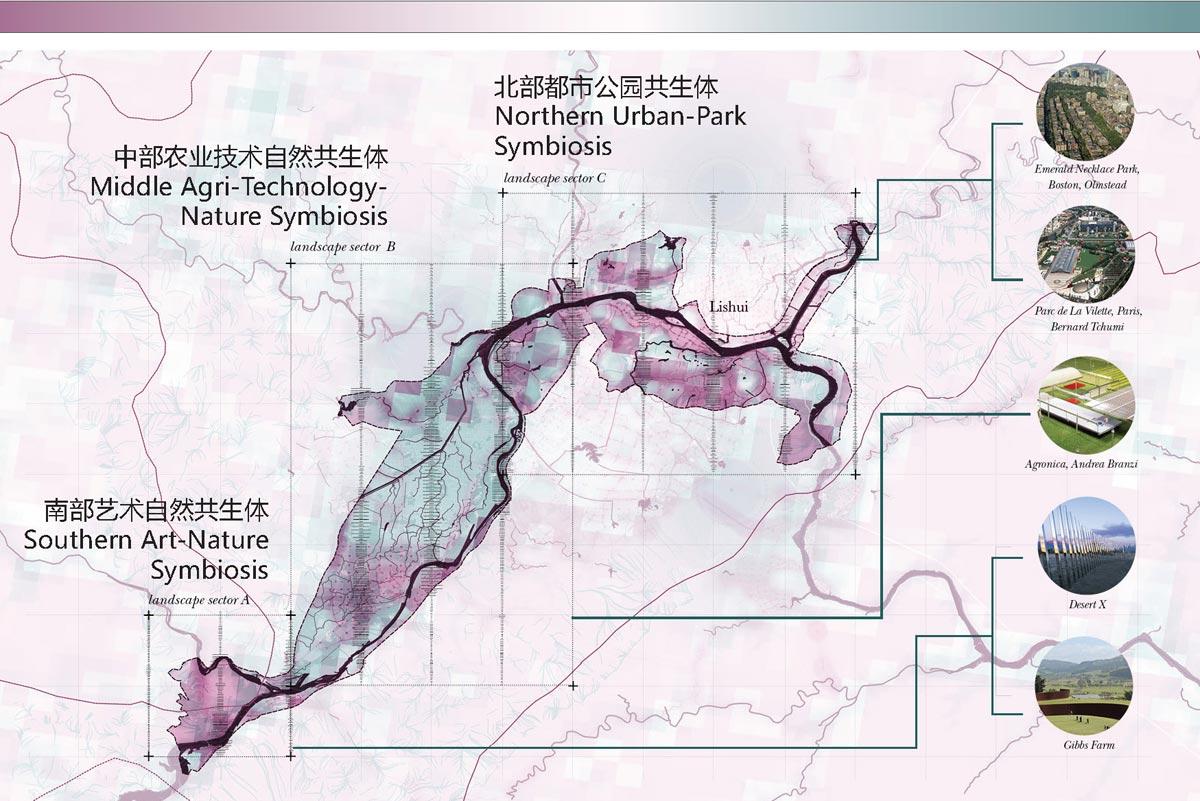 Lishui ecological plan
